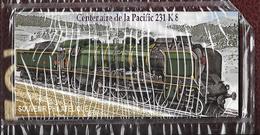 Souvenir Philatélique   Centenaire De La Pacific 231K8 - Blocs Souvenir