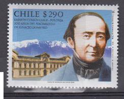 CHILI    2002       N °   1631        COTE      2 € 25       ( 1288 ) - Chile