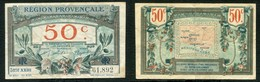 50 CENTIMES ND (1921-22) REGION PROVENCALE - Chamber Of Commerce