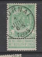 COB 56 Oblitération Centrale TOURNAI - 1893-1907 Armarios