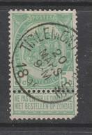 COB 56 Oblitération Centrale TIRLEMONT (Station) - 1893-1907 Armarios