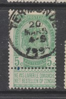 COB 56 Oblitération Centrale TERMONDE - 1893-1907 Armarios