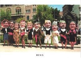 ES REUS - Los Nanos - Les Nains - Animée - Belle - Carnaval