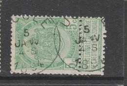 COB 56 Oblitération Centrale UCCLE - 1893-1907 Armarios