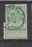 COB 56 Oblitération Centrale WESTERLOO - 1893-1907 Armarios