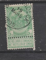 COB 56 Oblitération Centrale WILLEBROECK - 1893-1907 Armarios