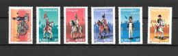 2004 - France  /garde Impériale / YT 3679/3684 /  MNH ** - Unused Stamps