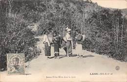 Laos - N°65760 - Jeunes Filles Khas Dans La Forêt - Laos