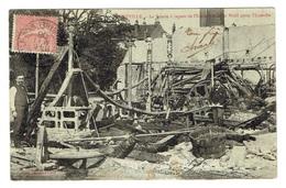 54 MEURTHE ET MOSELLE LUNEVILLE La Scierie à Vapeur De L'usine Weill Après Incendie - Luneville