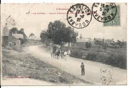 LE CAYROL. ROUTE D' ESPALION. ATTELAGE - France