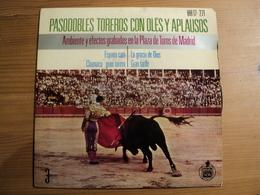 45 TOURS 4 TITRES BANDA TAURINA. 1964. PASODOBLES TOREROS CON OLES Y APLAUSOS TAUROMACHIE / CORRIDA. AMBIANCE DE LA PLA - Vinyl-Schallplatten