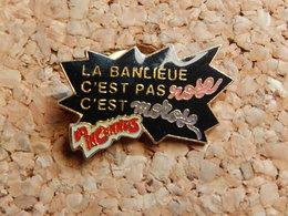 Pin's - LES INCONNUS - LA BANLIEU C'EST PAS ROSE C'EST MOROSE - Personajes Célebres