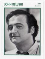 John BELUSHI (1980)  - Fiche Portrait Star Cinéma - Photo Collection Edito Service - Photos