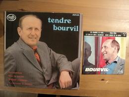 BOURVIL. LOT D UN 33 TOURS ET D UN 45 TOURS 4 TITRES. 1962 / 1973 EG 578 / MFP 046 13148. LES SOURIRES DE PARIS / VIEUX - Other - French Music