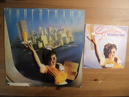 SUPERTRAMP. LOT D UN 33 TOURS ET D UN 45 TOURS. 1979 AMS 6892 / AMLK 64747. THE LOGICAL SONG / JUST ANOTHER NERVOUS WRE - Other - English Music