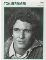 Tom BERENGER (1992)  - Fiche Portrait Star Cinéma - Filmographie - Photo Collection Edito Service - Photos