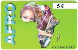 GERMANY Prepaid B-854 - Map, Africa - Used - Germany