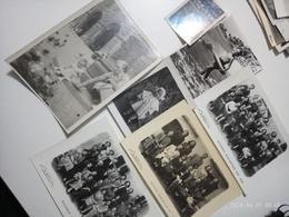 22 Fotografie Bianco E Nero Matrimoni E Foto Ricordo Scolastico 1949 1950 E Vari Italia - Persone Anonimi