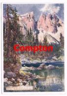 522 E.T.Compton Karersee Welschnofen Künstlerkarte - Bolzano (Bozen)