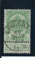 OCB 56 - Afstempeling LINCENT - COBA 8 - 1893-1907 Armarios
