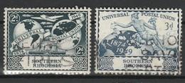 RHODESIE DU SUD 1949 YT N° 69 Et 70 Obl. - Zuid-Rhodesië (...-1964)