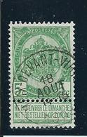 OCB 56 - Afstempeling MEIX-DEVANT-VIRTON - COBA 10 - 1893-1907 Armarios