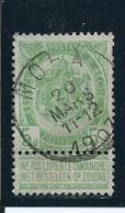 OCB 56 - Afstempeling MOHA - COBA 8 - 1893-1907 Armarios