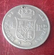 ESPAGNE 4 REALES 1853 MADRID N°188E - [ 1] …-1931 : Royaume