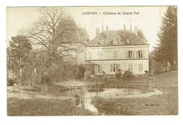 58 NIEVRE LORMES Château De Grand Pré - Lormes