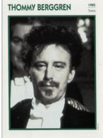 Thommy BERGGREN (1985) - Fiche Portrait Star Cinéma - Filmographie - Photo Collection Edito Service - Photographs
