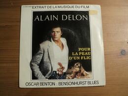 45 TOURS OSCAR BENTON. 1981. BO POUR LA PEAU D UN FLIC. EMI 2C 008 24693 BENSONHURST BLUES / TOOK ME A LONG TIME. ALAIN - Música De Peliculas