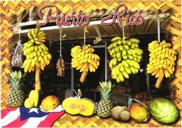 Puerto Rico:Fruits, Ananas, Bananas - Küchenrezepte