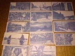 14 CARTES POSTALES  13X6 - Cartoline