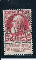 OCB 74 - Afstempeling CHARLEROI(FAUBOURG) - COBA 6 - 1905 Breiter Bart