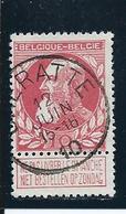 OCB 74 - Afstempeling CHERATTE - COBA 4 - 1905 Breiter Bart