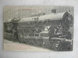 FERROVIAIRE - Locomotive - Coll. F. Fleury - Cie De L'Ouest - Nouvelle Machine Type Coumpound Pour Trains Grande Vitesse - Treni