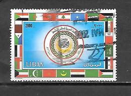 TIMBRE OBLITERE DU LIBAN DE 2002 N° MICHEL 1417 - Lebanon