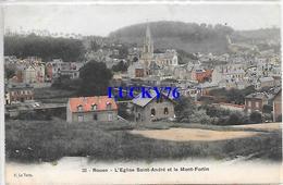 Rouen L'eglise Saint Andre Et Le Mont Fortin - Rouen