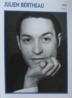 Julien BERTHEAU (1935)  - Fiche Portrait Star Cinéma - Filmographie - Photo Collection Edito Service - Photographs