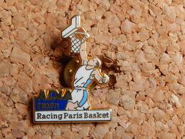 Pin's - ADIA INTERIM - RACING PARIS BASKET - Signe Arthus Bertrand - Arthus Bertrand