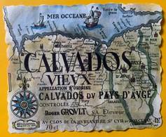 12898 - Calvados Roger Groult - Etiquettes