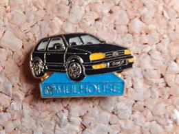 Pin's - Volkswagen GOLF - MULHOUSE HAUT RHIN - Volkswagen