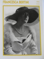 Francesca BERTINI (1915) - Fiche Portrait Star Cinéma - Filmographie - Photo Collection Edito Service - Photos