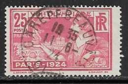 Maury 184 - 25 C Rouge - O Pothion 150 GARE DE BEAUVAIS OISE Type 04 - Oblitérés