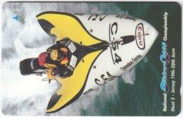 JERSEY A-499 Magnetic Telecom - Sport, Powerboat Race - 75JERC - Used - Ver. Königreich