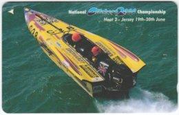 JERSEY A-500 Magnetic Telecom - Sport, Powerboat Race - 75JERD - Used - Ver. Königreich