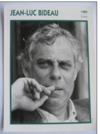 Jean Luc BIDEAU (1980) - Fiche Portrait Star Cinéma - Filmographie - Photo Collection Edito Service - Photographs