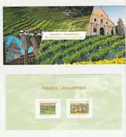 Souvenir Philatélique   France  Philippines   Sous Blister - Blocs Souvenir