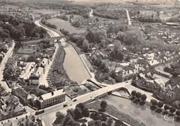 45-BRIARE-VUE GENERALE AERIENNE SUR LE VIEUX CANAL - Briare