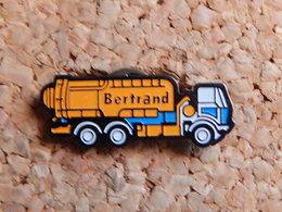 Pin's - CAMION - TRANSPORT BERTRAND - Transports